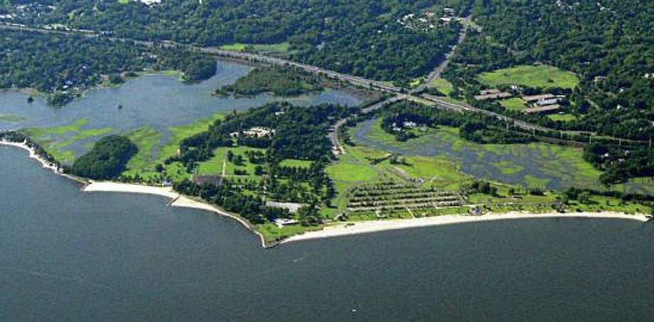 In celebration of the 100th anniversary of Connecticut state parks, which include Sherwood Island State Park in Westport, above, entry and parking fees will be waived this weekend at the 26 parks and three museums that usually charge visitors. Photo: File Photo / Westport News