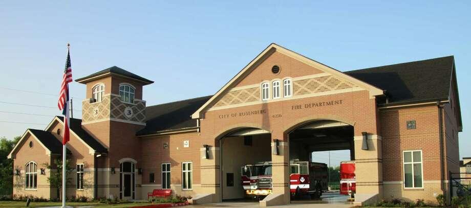 Rosenberg Fire Station No. 3 Photo: City Of Rosenberg