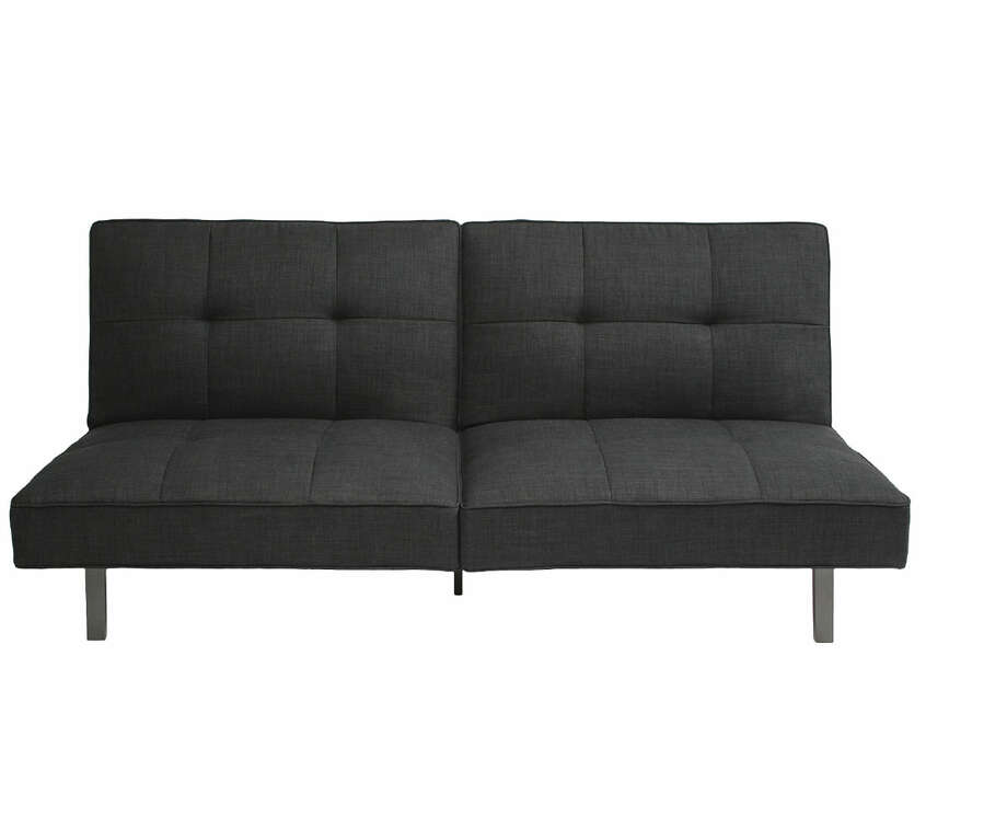 Instead of: An old-fashioned futon in a wood frameChoose: A tailored version that won't slump or get lumpy. Room Essentials Jacqueline Futon, $159.99 at Target Photo: Target / ONLINE_YES