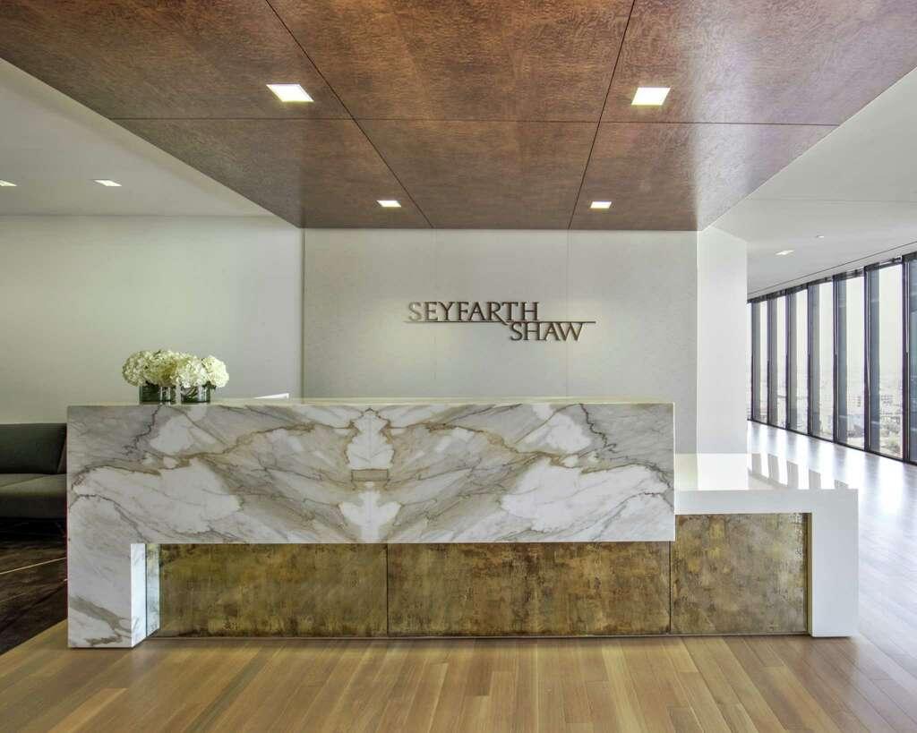 AIA Houston 2014 Design Award Winner For Interior Architecture Seyfarth Shaw Rottet Studio Photo