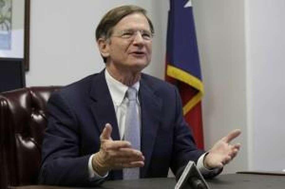 Rep. Lamar Smith, R-San Antonio, announced he will not seek re-election in 2018. (JERRY LARA/San Antonio Express-News)