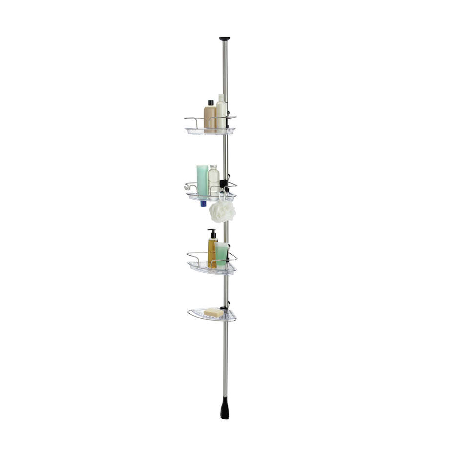Instead of: A plastic shower carrying caddyChoose: A pole or other non-portable shower storage--but only if the dorm has a suite-style bathroom attached. OXO adjustable pole caddy, $130. Photo: HANDOUT, THE WASHINGTON POST / THE WASHINGTON POST