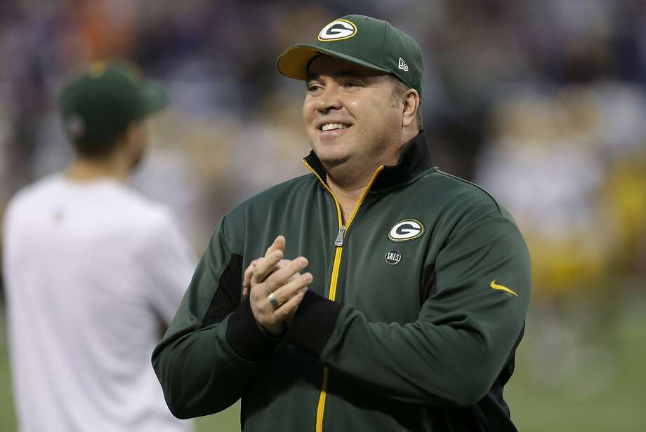Mike McCarthy is in his ninth season coaching the Packers. Season eight ended with a loss to the 49ers in the playoffs. Photo: Charlie Neibergall, Associated Press
