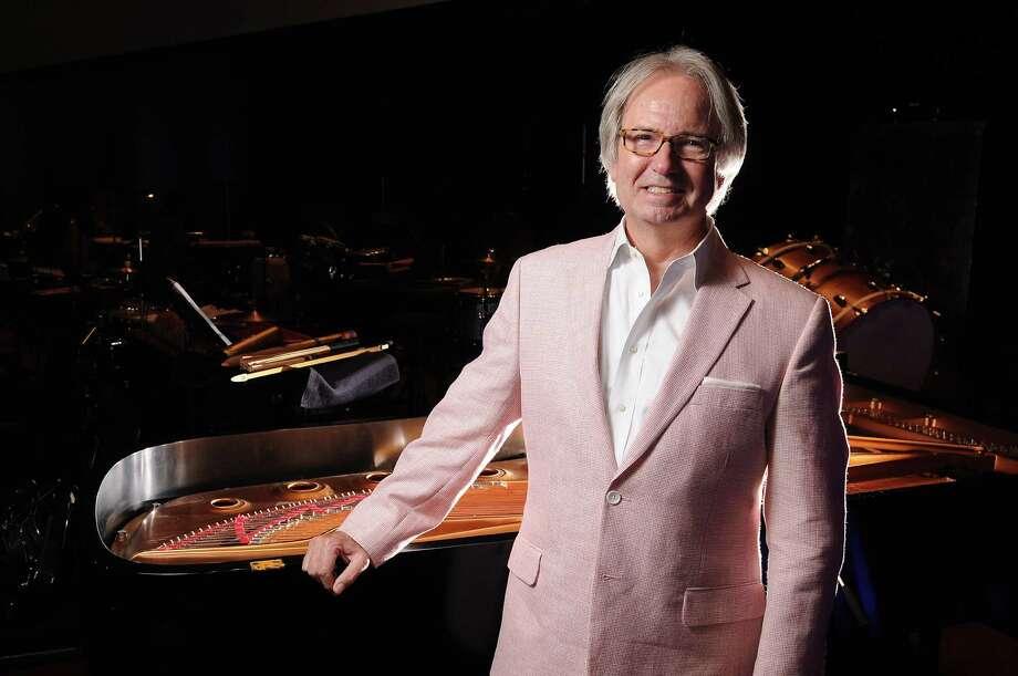 Houston Symphony Chorus director Charles Hausmann also is a music professor at the University of Houston. Photo: Dave Rossman, Freelance / © 2014 Dave Rossman