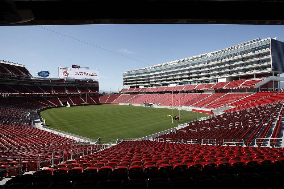 Levi's Stadium will be a decade old by the time the 2024 Olympics rolls around. Photo: Michael Short, The Chronicle