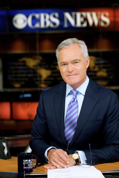 """This Jan. 17, 2014 photo provided by CBS Broadcasting, Inc., shows Scott Pelley, anchor and managing editor of the """"CBS Evening News"""" at the CBS television studios in New York. (AP Photo/CBS Broadcasting, Inc., John Paul Filo) Photo: John Paul Filo, HOEP / CBS NEWS"""