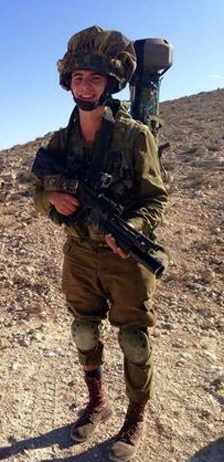 Noam Sohn, an alumnus of Carmel Academy, is a commander in the Israeli Defense Forces. Photo: Contributed Photo / Greenwich Time