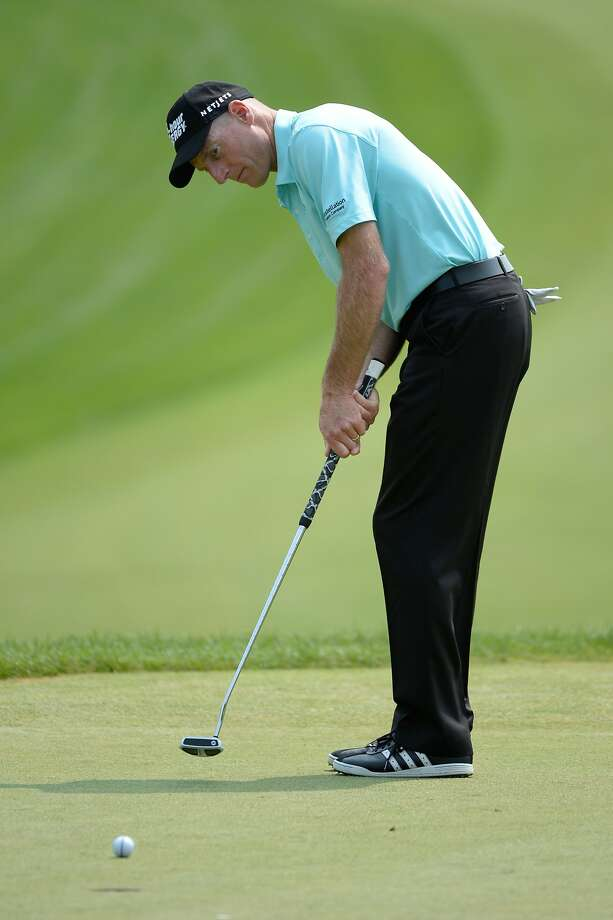 Jim Furyk is bidding for his third Canadian Open title. Photo: Charles Laberge, Getty Images