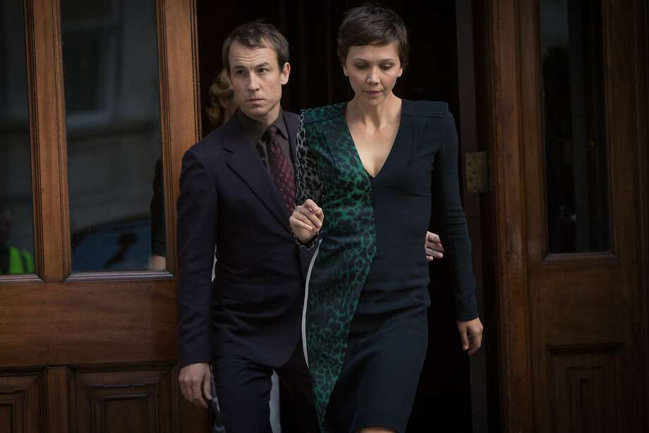 "Maggie Gyllenhaal plays Israeli heiress Nessa Stein, with Tobias Menzies as her bodyguard Nathaniel Bloom in ""The Honorable Woman."" Photo: Robert Viglasky, Sundance"