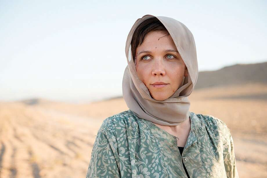 "Maggie Gyllenhaal in the Middle East political thriller ""The Honorable Woman."" Photo: Des Willie, Sundance"