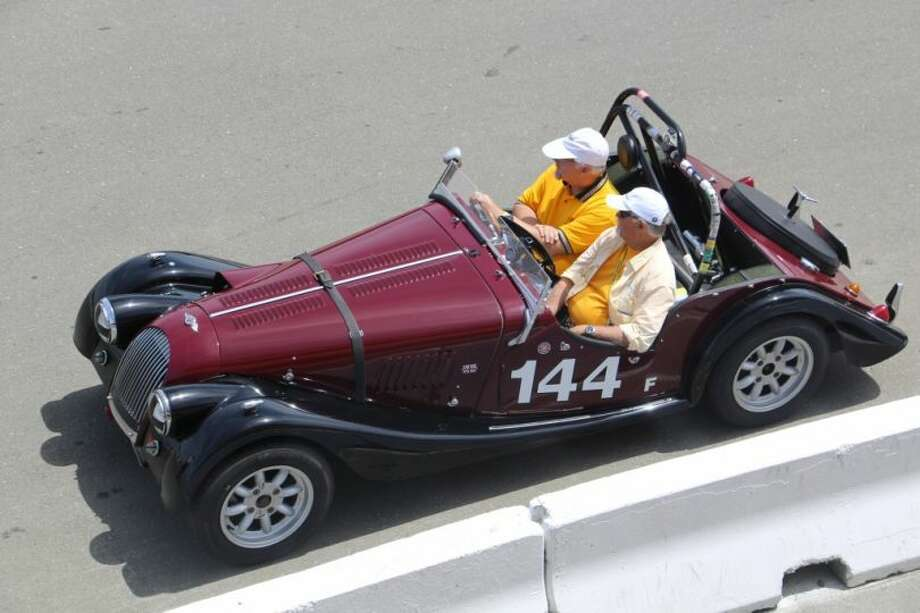A 1979 Morgan, similar to the 1964 model pictured above, was stolen from the home of a dead man in Fairfield some time in May, police said. Photo: File Photo