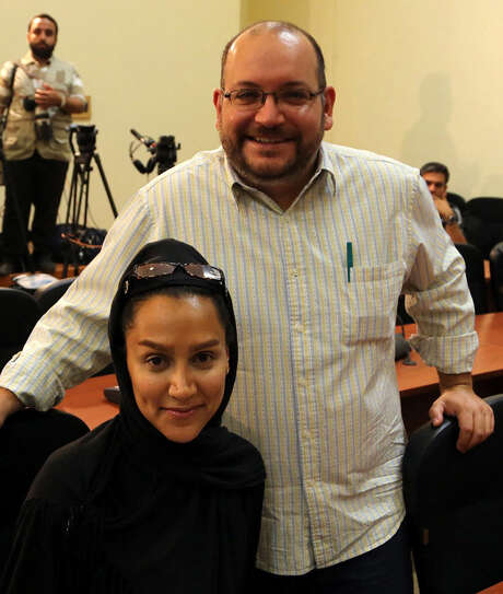 Iranian-American  Jason Rezaian and his Iranian wife Yeganeh Salehi are among four journalists held in Iran. Photo: AFP / Getty Images / AFP