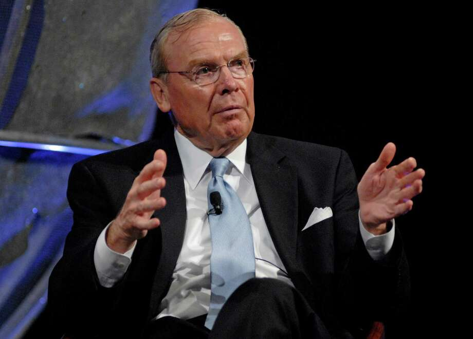 Jon M. Huntsman, founder and former chairman of the The Woodlands-based Huntsman Corp., died at 80. Photo: MIKE MERGEN / Bloomberg News