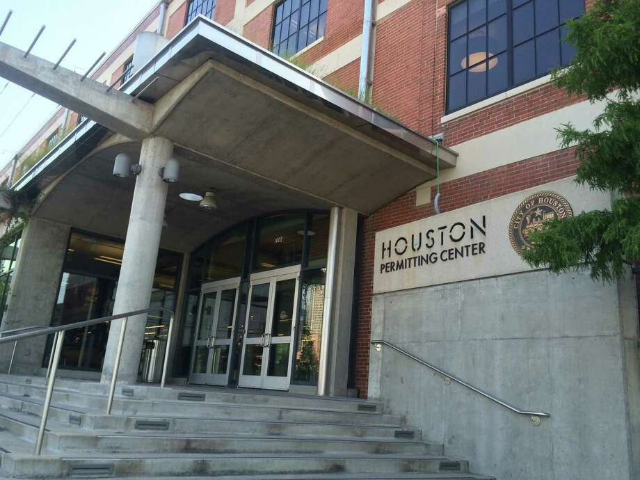 The Houston Permitting Center at 1002 Washington Ave. combines the majority of the city of Houston's permitting and licensing into one location. Photo: Nancy Sarnoff
