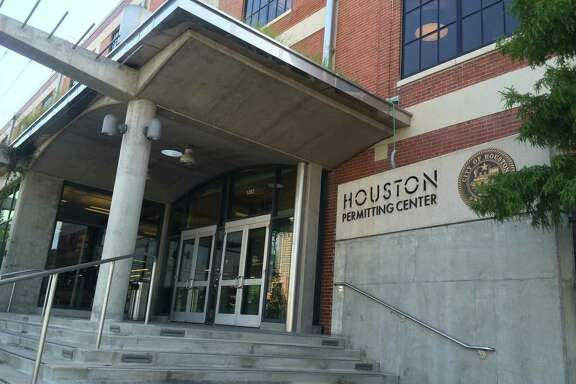 The Houston Permitting Center at 1002 Washington Ave. combines the majority of the city of Houston's permitting and licensing into one location.