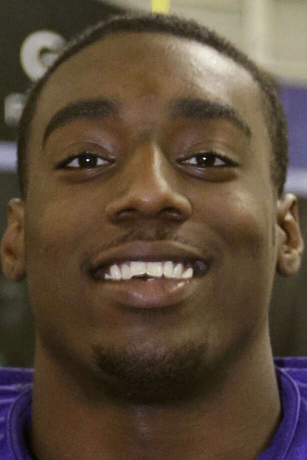 TCU's Devonte Fields turned himself in after a misdemeanor assault warrant was issued for him. / AP