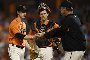Giants Splash: Posey catches Lincecum, Maxwell out, plus an oddity squared - Photo