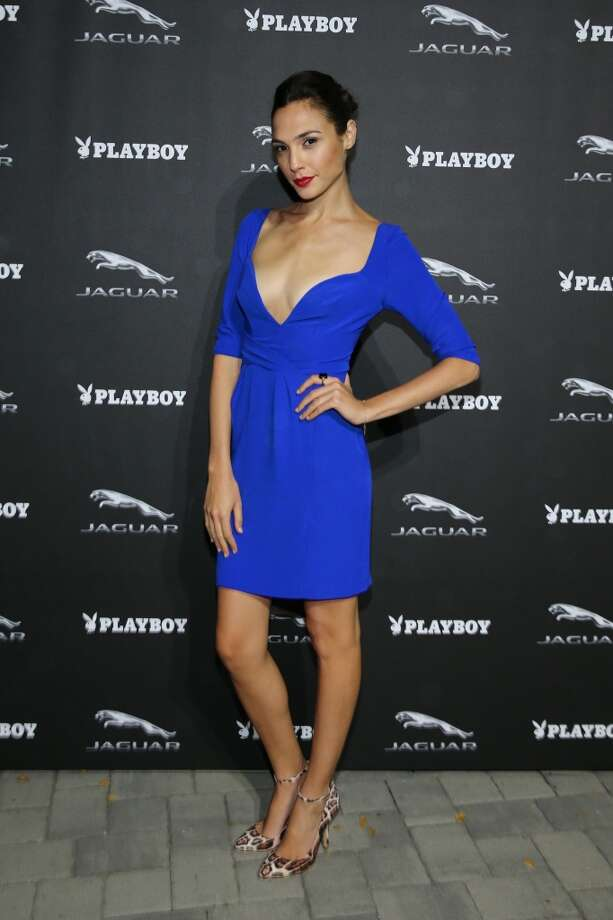 PEBBLE BEACH, CA - AUGUST 16:  Actress Gal Gadot attends the Jaguar and Playboy Magazine exclusive VIP reception to celebrate Jaguar's high-performance models during Pebble Beach weekend on August 16, 2013 in Monterey, California.  (Photo by Neilson Barnard/Getty Images for Jaguar) Photo: Getty Images For Jaguar