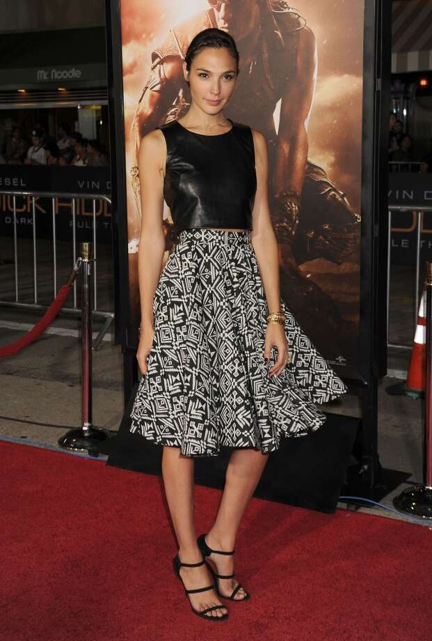 WESTWOOD, CA- AUGUST 28: Actress Gal Gadot arrives at the Los Angeles premiere of 'Riddick' at the Westwood Village Theatre on August 28, 2013 in Westwood, California.(Photo by Jeffrey Mayer/WireImage) Photo: WireImage