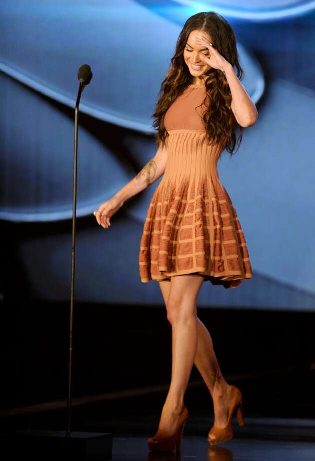 HOLLYWOOD - JULY 19:  Actress Megan Fox speaks onstage at the 2010 VH1 Do Something! Awards held at the Hollywood Palladium on July 19, 2010 in Hollywood, California.  (Photo by Michael Caulfield/Getty Images for VH1)