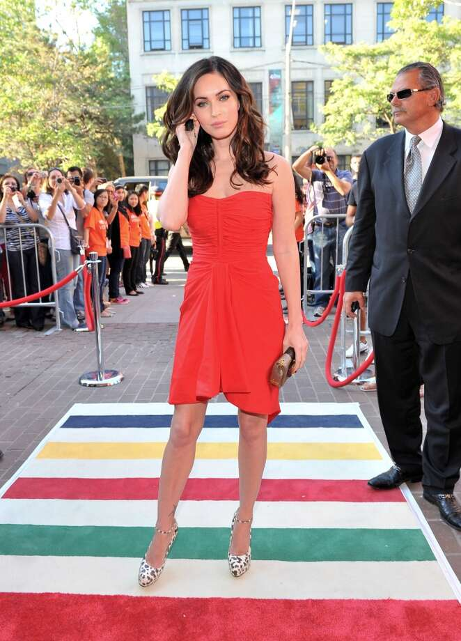 "Actress Megan Fox arrives at ""Friends With Kids"" Premiere at Ryerson Theatre during the 2011 Toronto International Film Festival on September 9, 2011 in Toronto, Canada. Photo: WireImage"