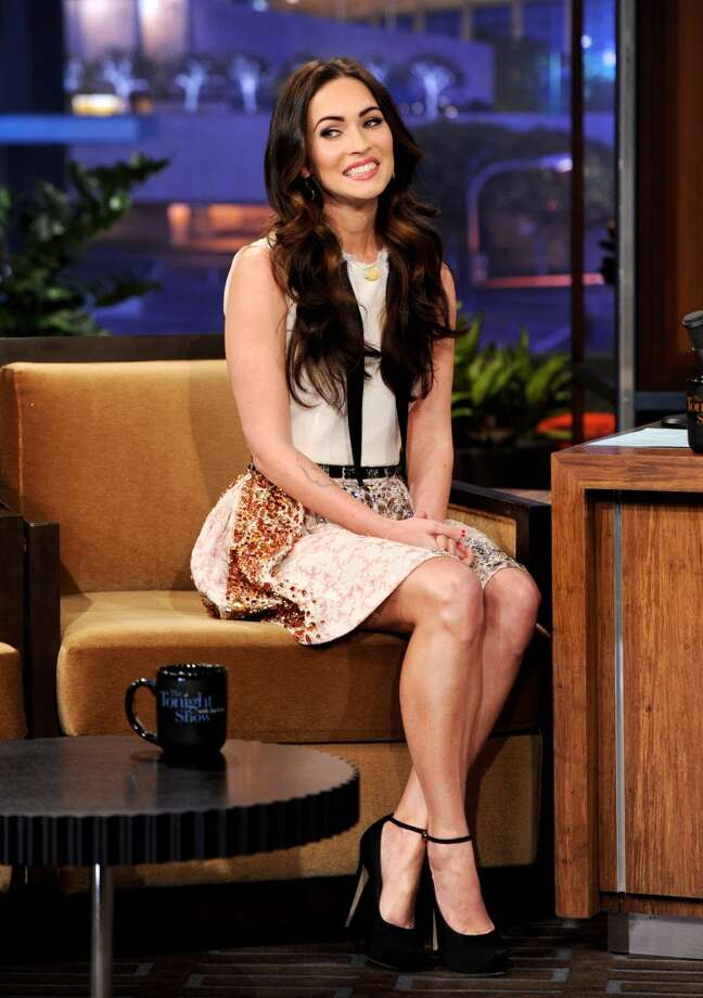 BURBANK, CA - FEBRUARY 27:  Actress Megan Fox appears on the Tonight Show With Jay Leno at NBC Studios on February 27, 2012 in Burbank, California.  (Photo by Kevin Winter/NBCUniversal/Getty Images) Photo: Getty Images