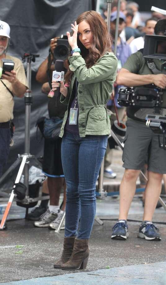 NEW YORK, NY - JULY 22:  Actress Megan Fox as seen on July 22, 2013 in New York City.  (Photo by DVT/Star Max/FilmMagic) Photo: FilmMagic