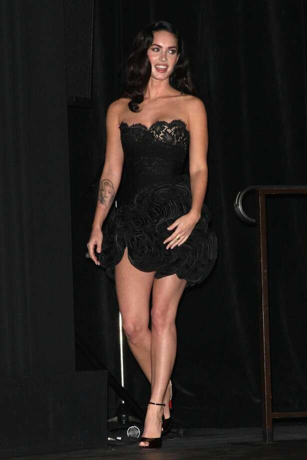 TORONTO, ON - SEPTEMBER 10:  Actress Megan Fox walks onstage at the Toronto International Film Festival Midnight Madness screening 'Jennifer's Body' film introductions held at the Ryerson Theatre on September 10, 2009 in Toronto, Canada.  (Photo by Jason Merritt/Getty Images) Photo: Getty Images
