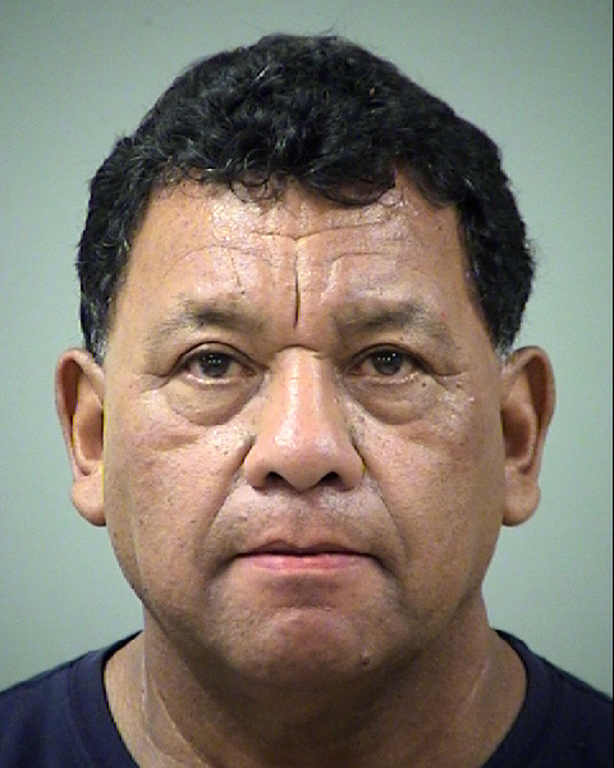 Rodolfo Aleman, 64, was arrested after allegedly soliciting an undercover officer for prostitution Friday afternoon on the West Side.