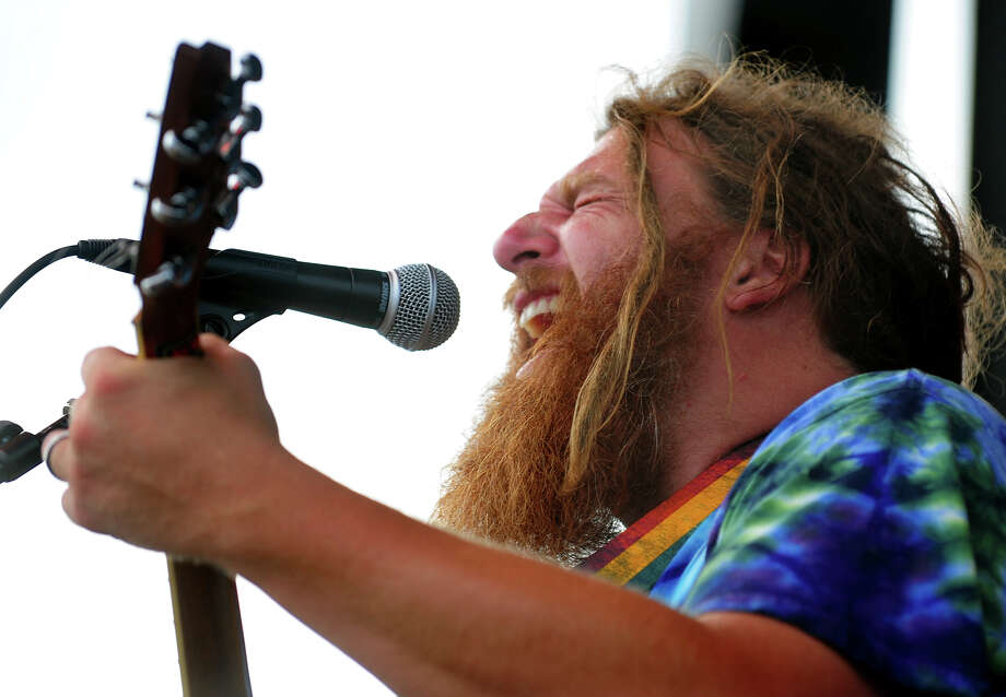 Benny Mikula of the Alpaca Gnomes, performs during the Blues on the Beach music festival at Short Beach Park in Stratford, Conn. on Saturday July 26, 2014. Photo: Christian Abraham / Connecticut Post