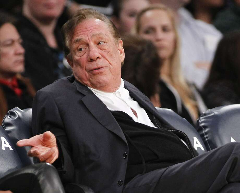 A boycott by Doc Rivers and Chris Paul disrupt the league and hearten Donald Sterling, above. Photo: Danny Moloshok, Associated Press