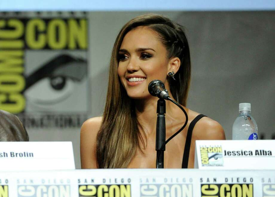 "Jessica Alba attends the ""Sin City: A Dame To Kill For"" panel on Day 3 of Comic-Con International on Saturday, July 26, 2014, in San Diego. Photo: Chris Pizzello, Chris Pizzello/Invision/AP / Invision"