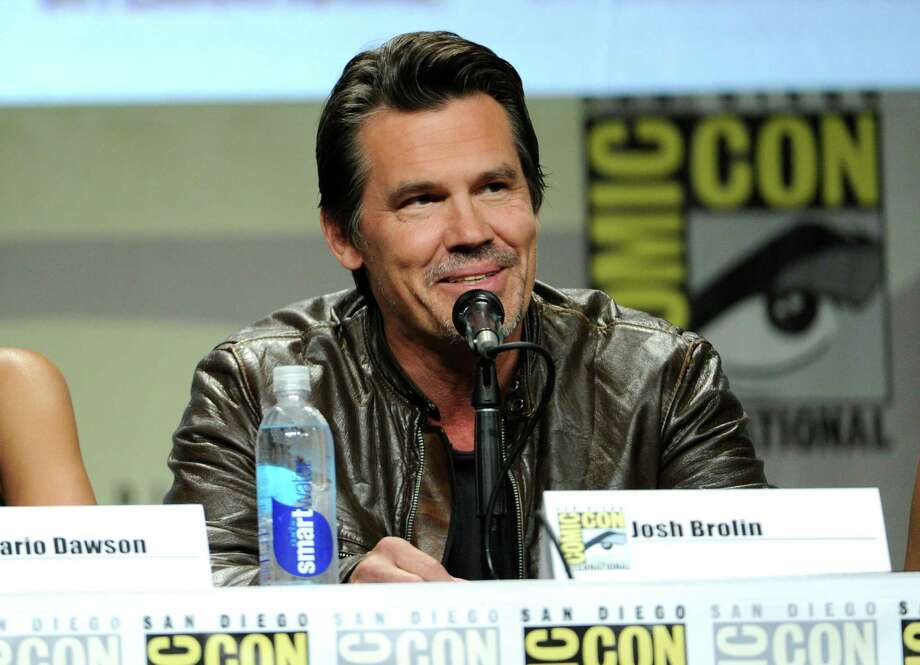 "Josh Brolin attends the ""Sin City: A Dame To Kill For"" panel on Day 3 of Comic-Con International on Saturday, July 26, 2014, in San Diego. Photo: Chris Pizzello, Chris Pizzello/Invision/AP / Invision"