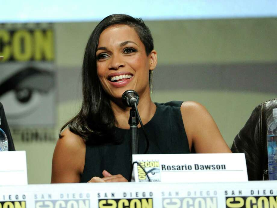 "Rosario Dawson attends the ""Sin City: A Dame To Kill For"" panel on Day 3 of Comic-Con International on Saturday, July 26, 2014, in San Diego. Photo: Chris Pizzello, Chris Pizzello/Invision/AP / Invision"
