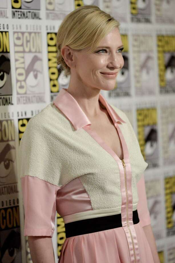 "Cate Blanchett attends the Comic-Con ""The Hobbit: The Battle of the Five Armies"" press line on Day 3 of Comic-Con on Saturday, July 26, 2014, in San Diego. Photo: Richard Shotwell, Richard Shotwell/Invision/AP / Invision"