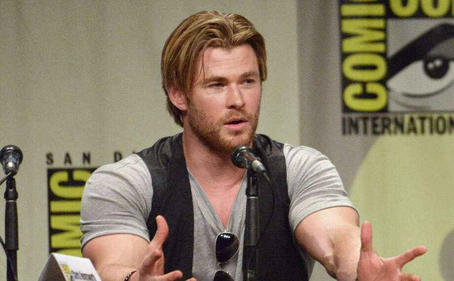 "Chris Hemsworth attends the Legendary Pictures panel for ""Black Hat"" on Day 3 of Comic-Con International on Saturday, July 26, 2014, in San Diego. Photo: Richard Shotwell, Richard Shotwell/Invision/AP / Invision"