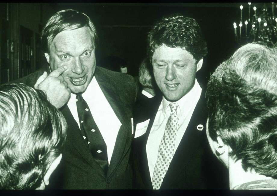 As Arkansas' governor, Bill Clinton (center) was defeated in 1980 after his first two-year term because of a controversial influx of immigrants to the state. He was re-elected in 1982. Photo: John Sykes / Getty Images / Hulton Archive