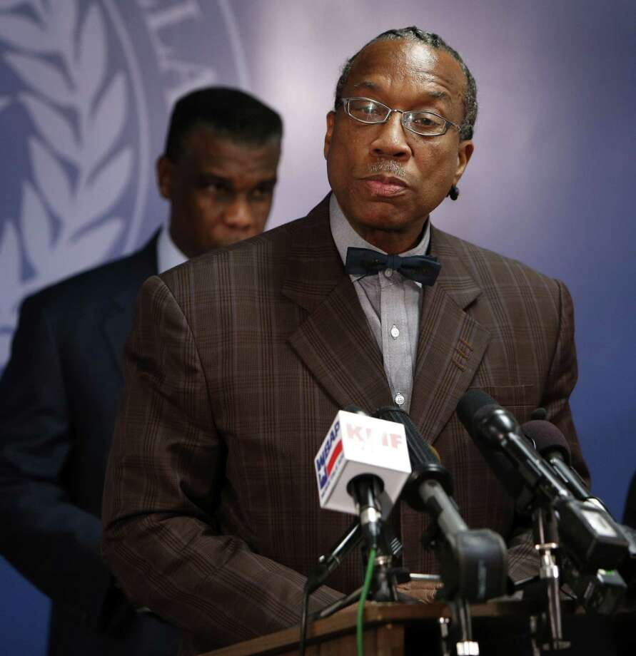 The 11 counts against Dallas County Commissioner John Wiley Price charge that he accepted the gifts from two political consultants in exchange for giving them insider information and voting for certain projects. Photo: Evans Caglage / Dallas Morning News / The Dallas Morning News