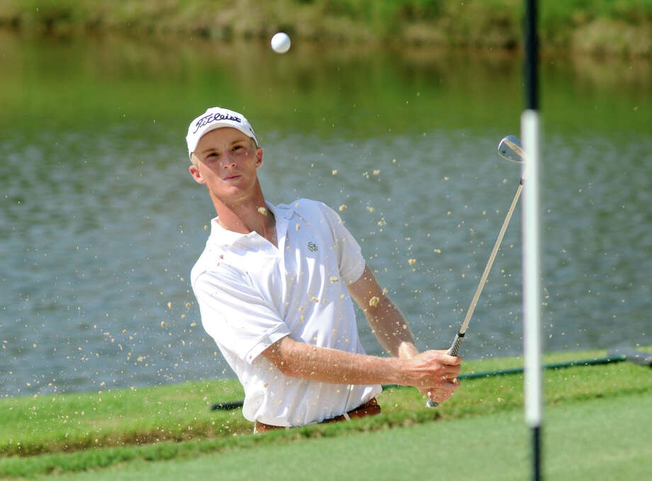 Plano's William Zalatoris, who will play college golf at Wake Forest, defeated Davis Riley 5 and 3 in Saturday's final at The Club at Carlton Woods. Photo: Jerry Baker, Freelance