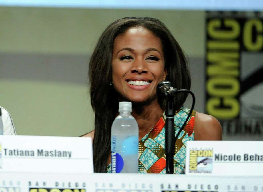 Nicole Beharie attends an Entertainment Weekly panel on Day 3 of Comic-Con International on Saturday, July 26, 2014, in San Diego. Photo: Chris Pizzello, Chris Pizzello/Invision/AP / AP2014