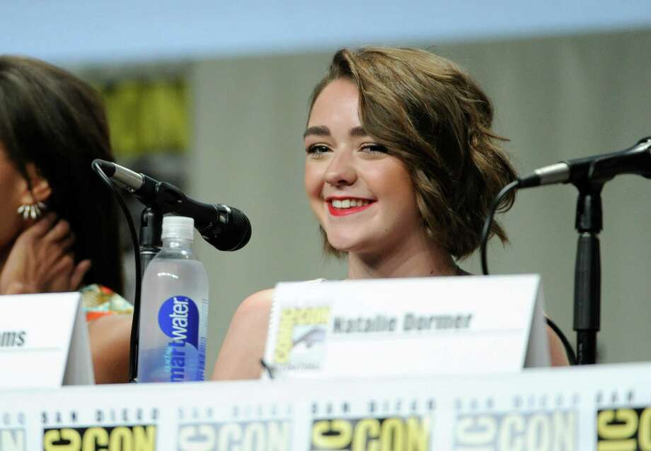 Maisie Williams attends an Entertainment Weekly panel on Day 3 of Comic-Con International on Saturday, July 26, 2014, in San Diego. Photo: Chris Pizzello, Chris Pizzello/Invision/AP / AP2014