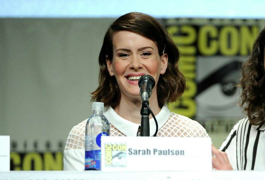 Sarah Paulson attends an Entertainment Weekly panel on Day 3 of Comic-Con International on Saturday, July 26, 2014, in San Diego. Photo: Chris Pizzello, Chris Pizzello/Invision/AP / AP2014