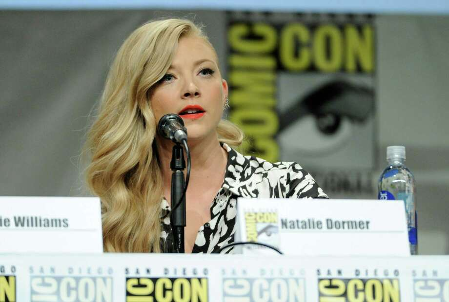 Natalie Dormer attends an Entertainment Weekly panel on Day 3 of Comic-Con International on Saturday, July 26, 2014, in San Diego. Photo: Chris Pizzello, Chris Pizzello/Invision/AP / AP2014