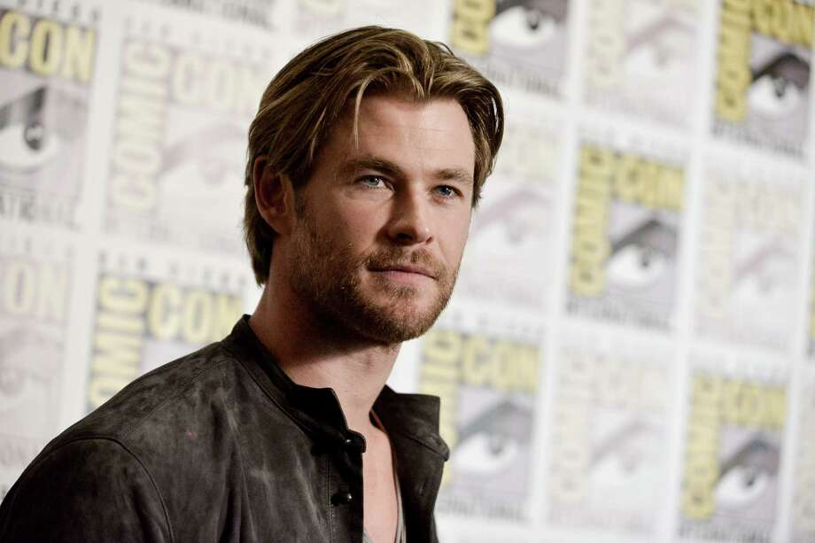 Chris Hemsworth attends the Marvel press line on Day 3 of Comic-Con International on Saturday, July 26, 2014, in San Diego. Photo: Richard Shotwell, Richard Shotwell/Invision/AP / Invision