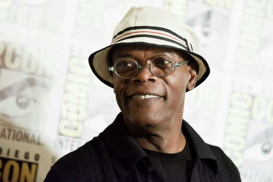 Samuel L. Jackson attends the Marvel press line on day 3 of Comic-Con International on Saturday, July 26, 2014, in San Diego. Photo: Richard Shotwell, Richard Shotwell/Invision/AP / Invision
