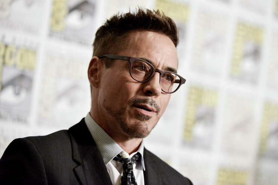 Robert Downey Jr. attends the Marvel press line on day 3 of Comic-Con International on Saturday, July 26, 2014, in San Diego. Photo: Richard Shotwell, Richard Shotwell/Invision/AP / AP2014