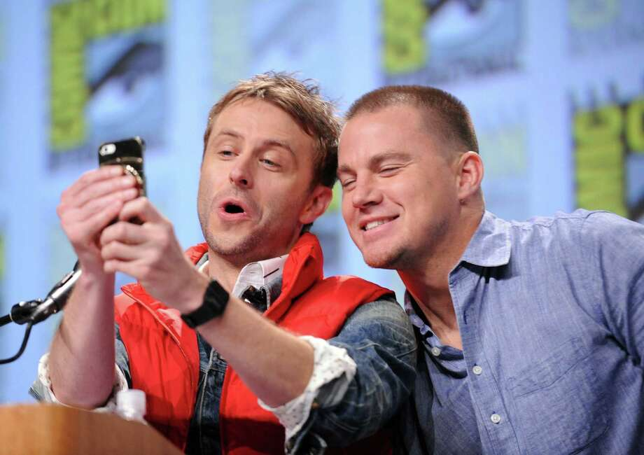 SAN DIEGO, CA - JULY 26:  Actors Chris Hardwick (L) and Channing Tatum attend the Warner Bros. Pictures panel and presentation during Comic-Con International 2014 at San Diego Convention Center on July 26, 2014 in San Diego, California. Photo: Albert L. Ortega, Getty Images / 2014 Albert L. Ortega