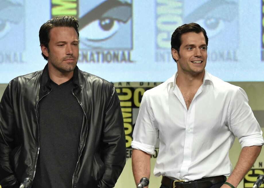 SAN DIEGO, CA - JULY 26:  Actors Ben Affleck (L) and Henry Cavill attend the Warner Bros. Pictures panel and presentation during Comic-Con International 2014 at San Diego Convention Center on July 26, 2014 in San Diego, California. Photo: Kevin Winter, Getty Images / 2014 Getty Images