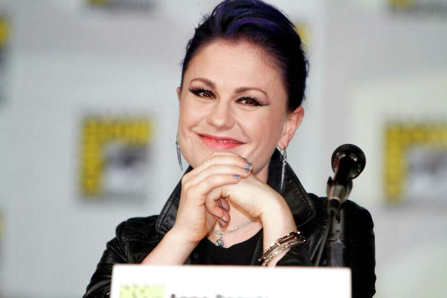 "SAN DIEGO, CA - JULY 26:  Actress Anna Paquin speaks onstage at HBO's ""True Blood"" panel during Comic-Con 2014 on July 26, 2014 in San Diego, California. Photo: FilmMagic / 2014 FilmMagic"