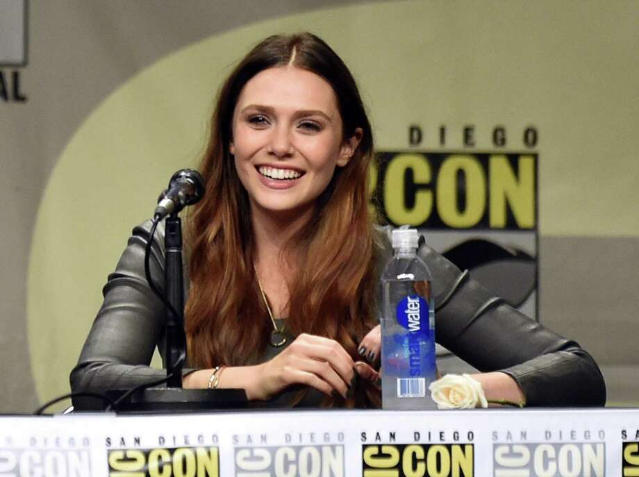 SAN DIEGO, CA - JULY 26:  Actress Elizabeth Olsen attends the Marvel Studios panel during Comic-Con International 2014 at San Diego Convention Center on July 26, 2014 in San Diego, California. Photo: Kevin Winter, Getty Images / 2014 Getty Images